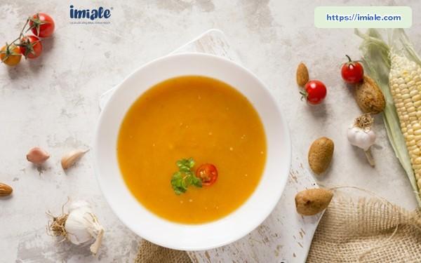 soup bí đỏ