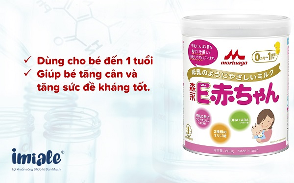 3.4. Sữa Morinaga E-Akachan 1