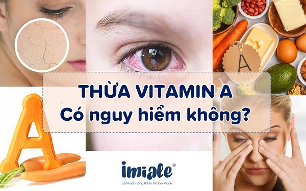 thừa vitamin A