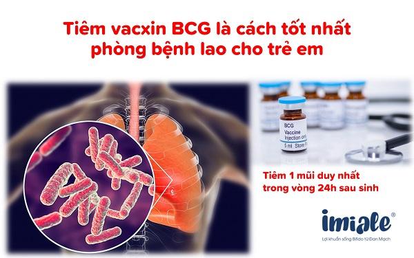 3.2 Vacxin phòng bệnh lao 1