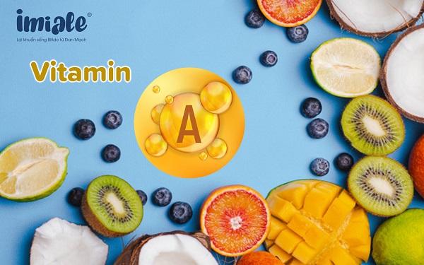 vitamin A cho bé