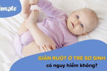 giãn ruột ở trẻ sơ sinh