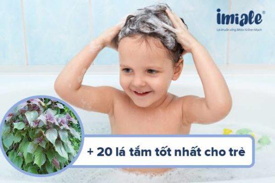 20+ lá tắm tốt nhất cho trẻ sơ sinh và cách sử dụng đúng