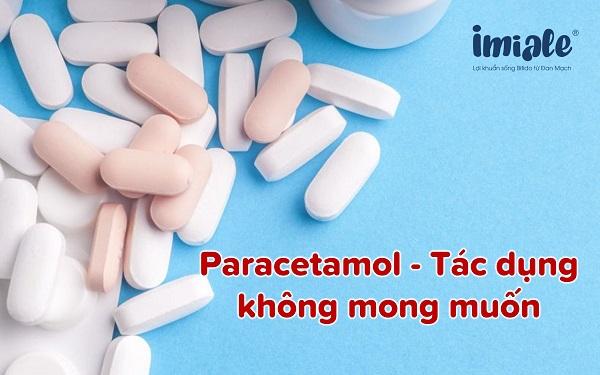 tác dụng không mong muốn paracetamol