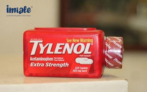 2.4. Paracetamol hỗn dịch (Tylenol) 1