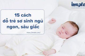 cách dỗ trẻ sơ sinh ngủ