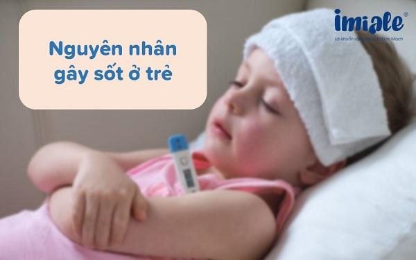 nguyên nhân gây tăng nhiệt độ trẻ sơ sinh