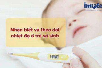 nhiệt độ trẻ sơ sinh