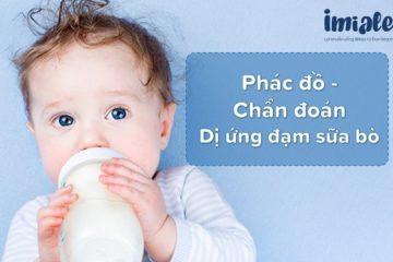 phác đồ chản đoán dị ứng đạm sữa bò