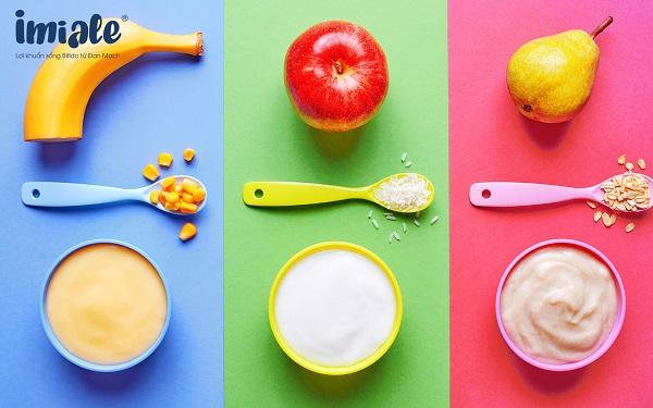 thức ăn màu sắc