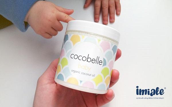 3.8. Dầu dừa hữu cơ Cocobelle Baby 1