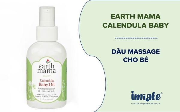 Dầu Earth Mama Calendula Baby