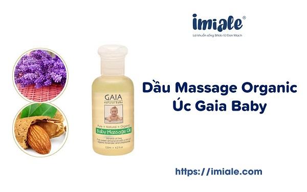 Dầu Massage Organic Úc Gaia Baby