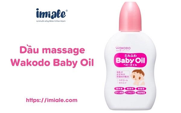 Dầu massage Wakodo Baby Oil