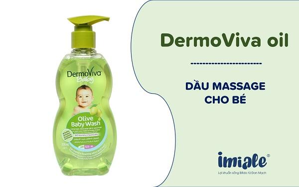 3.12. Dầu massage DermoViva chiết xuất ô liu 1