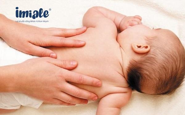 lưu ý khi massage cho trẻ