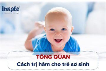 cách trị hăm cho trẻ sơ sinh